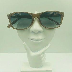 Fossil FU34 Brown Oval Sunglasses Frames